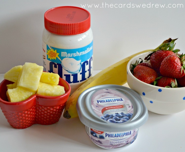 fruit pizza ingredients