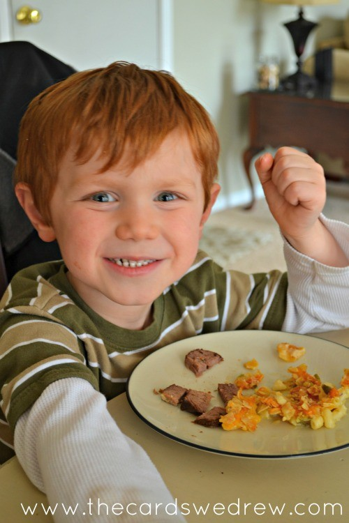 kid approved green chile mac n cheese