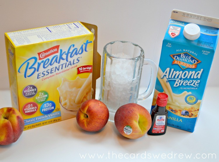 Carnation Breakfast Essentials Smoothie Ingredients