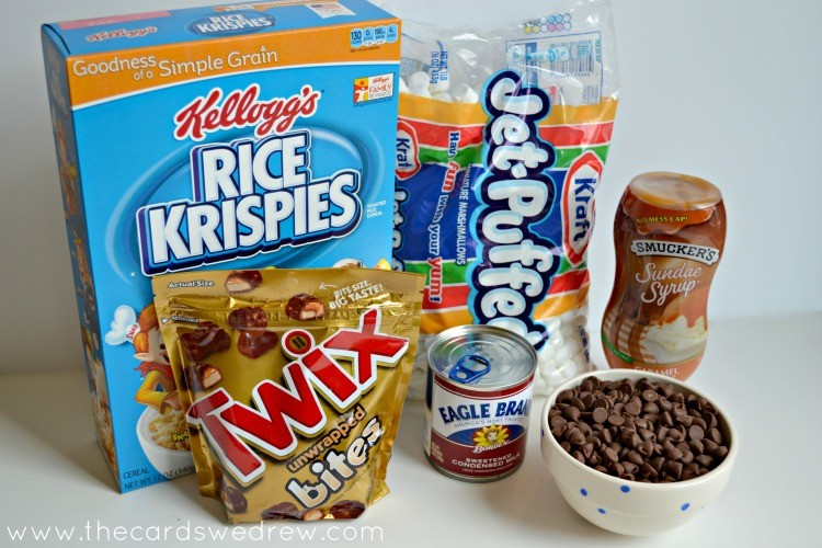 Rice Krispie ingredients