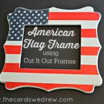 DIY American Flag Frame