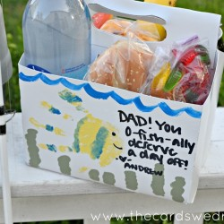 Father's Day Fishing Lunch Idea