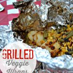 Grilled Veggie Wraps + BBQ Ideas