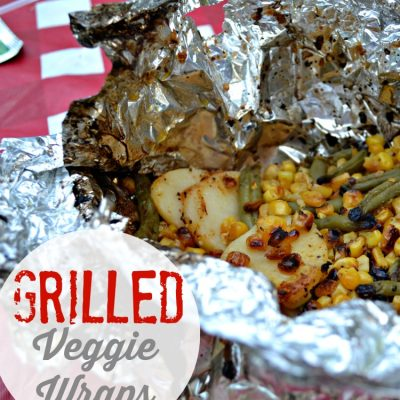 Grilled Veggie Wraps + BBQ Ideas