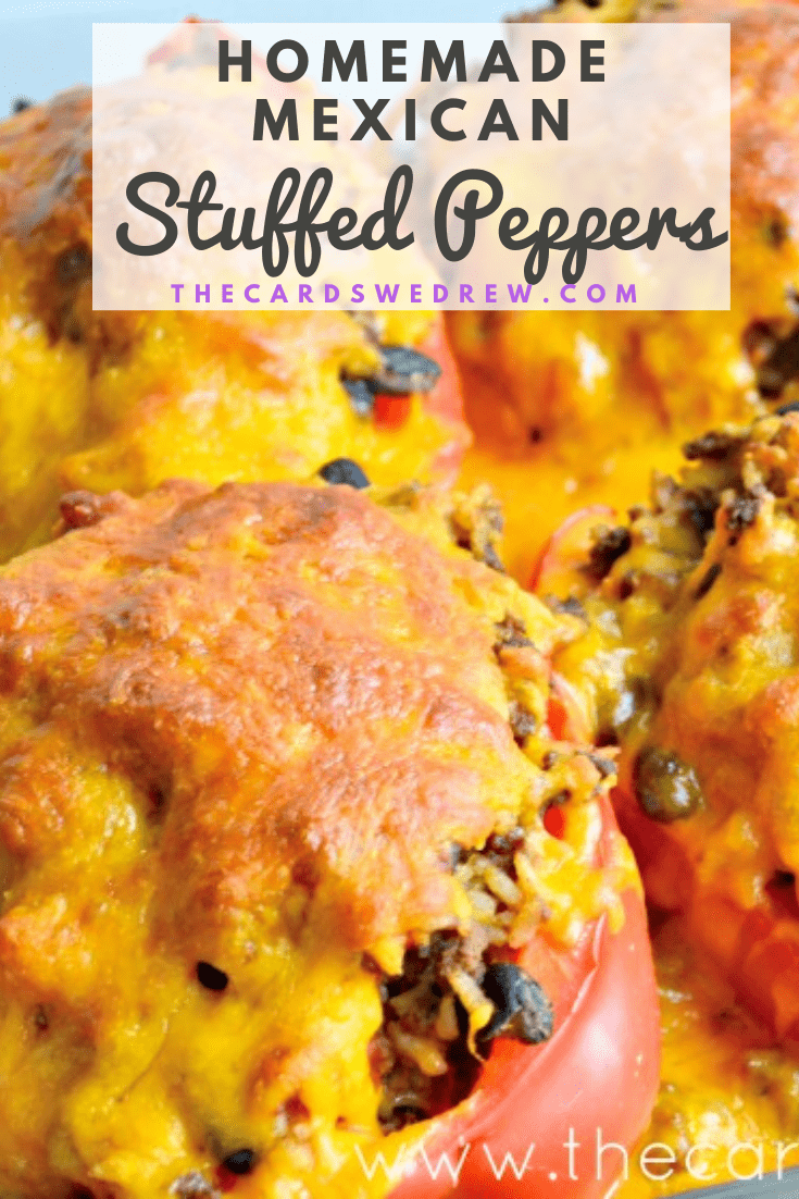 Homemade Mexican Stuffed Peppers