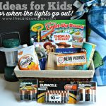 Ideas for Kids for When the Lights Go Out with Duracell