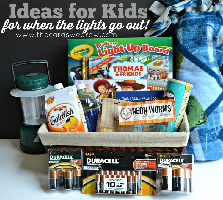 Ideas for Kids for When the Lights Go Out #PrepWithPower #shop