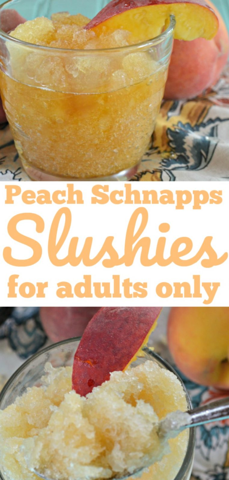 Slush Drink Recipes Peach Schnapps Slushy
