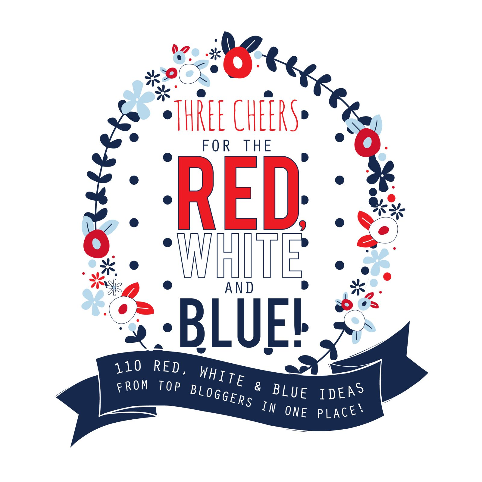 Three Cheers for the Red White and Blue final logo 2 Sweet Land of Liberty Printable 14