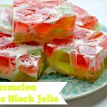 Glass Block Watermelon Jello Recipe