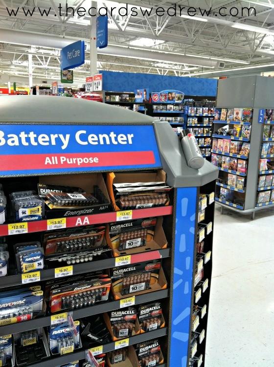 battery center at walmart