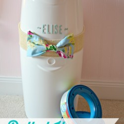 Dolled Up Diaper Genie Baby Gift Idea