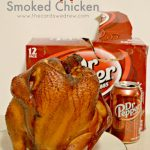Dr Pepper Smoked Chicken