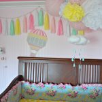 Wallternative Hot Air Balloon Nursery Decor