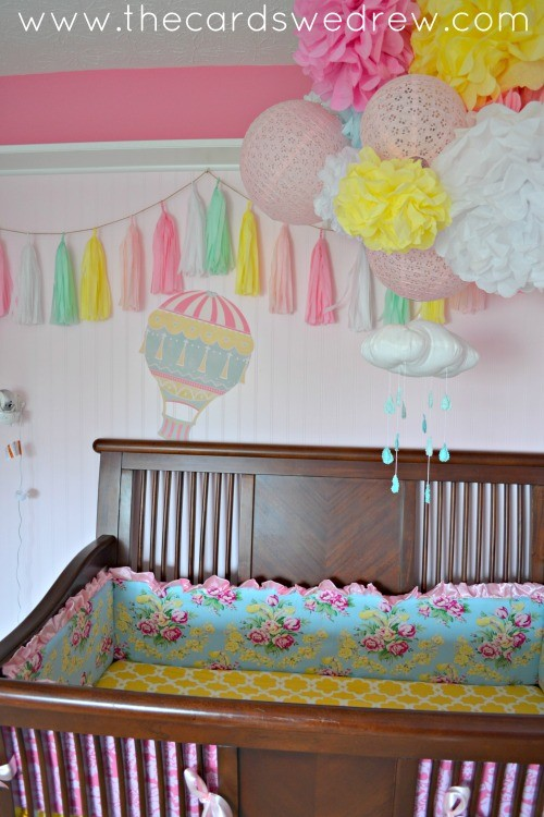 Hot Air Balloons Wallternatives Nursery decor