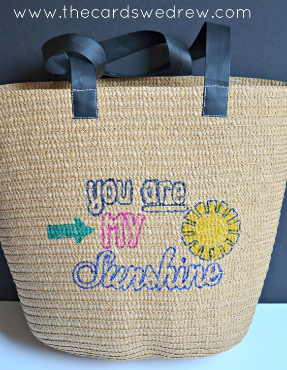 You Are My Sunshine Reusable Gift Bag
