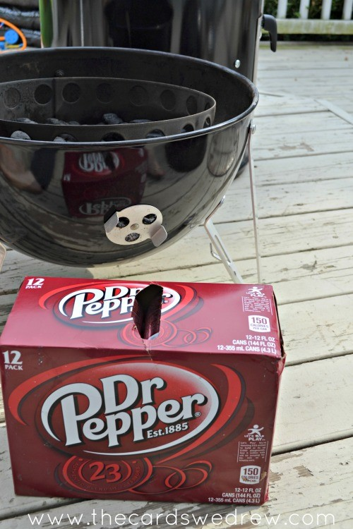dr. pepper smoker chicken
