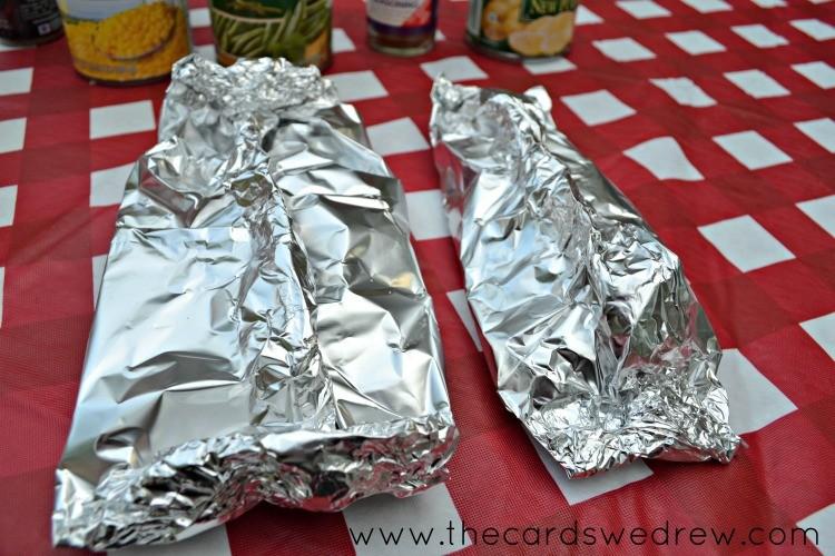 foil veggie wraps