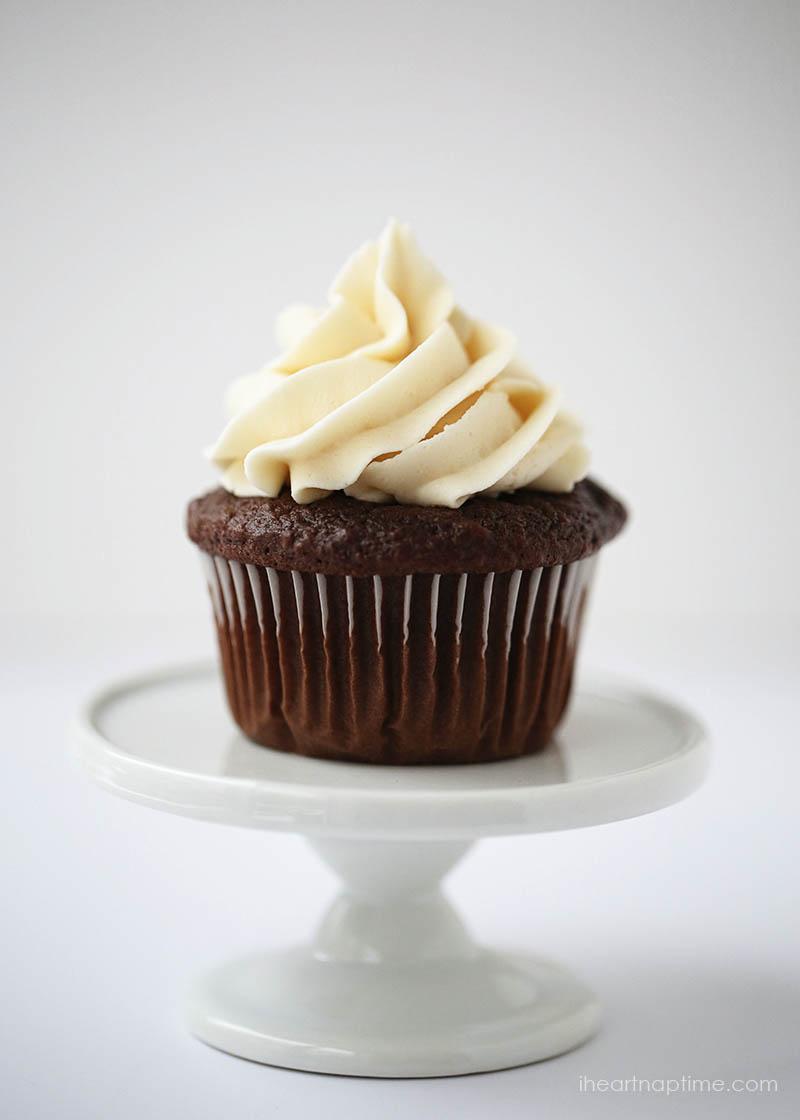 Peanut Butter Chocolate Chip Cupcakes Sour Cream