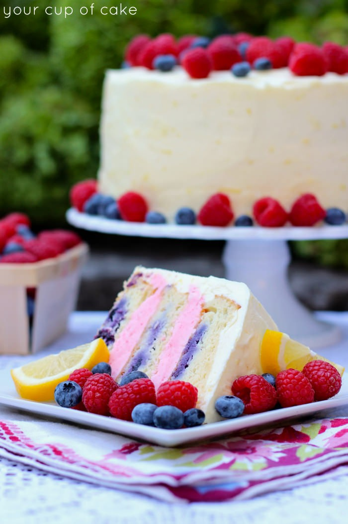Easy-Lemon-Berry-Cake