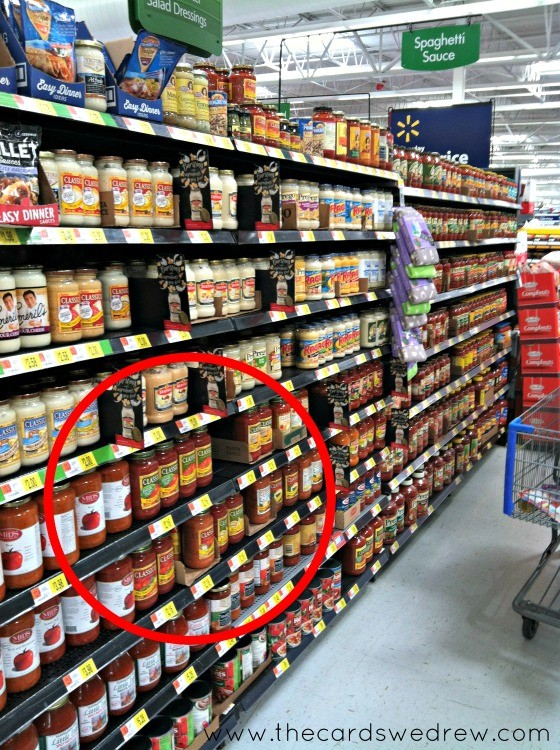 Heinz Classico Sauce in Walmart