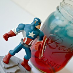 Captain America Superhero Drink