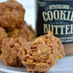 Cookie Butter No Bake Corn Flake Cookies
