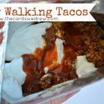 Easy Walking Tacos {Tailgate Food}