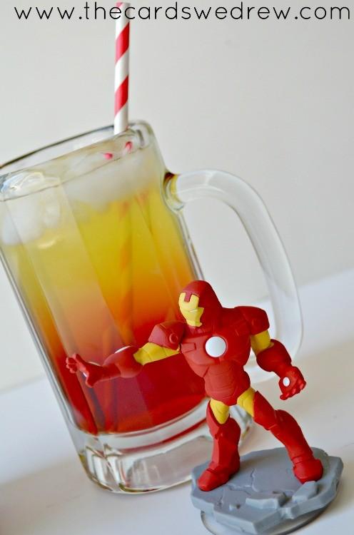 Iron Man Superhero Drink