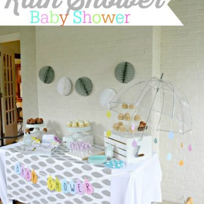 Rain Shower Baby Shower {Gender Neutral Shower}