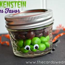 Frankenstein Skittles Favor Idea