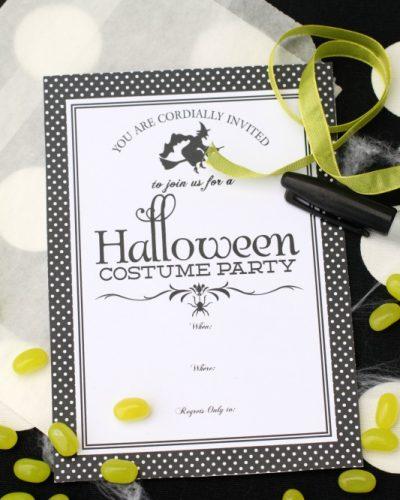 Halloween Printables Round Up