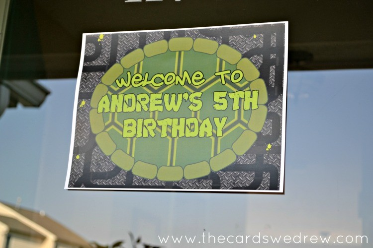 Ninja Turtle 5th Birthday