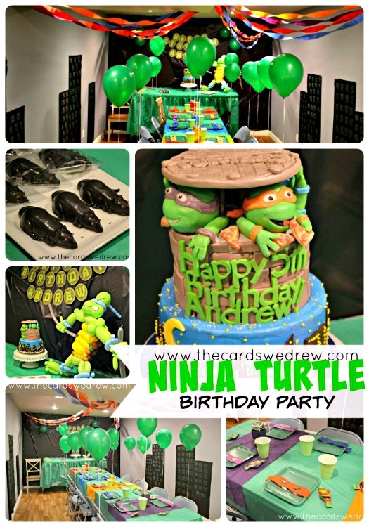 Ninja-Turtle-Birthday-Party-from-www.thecardswedrew.com_
