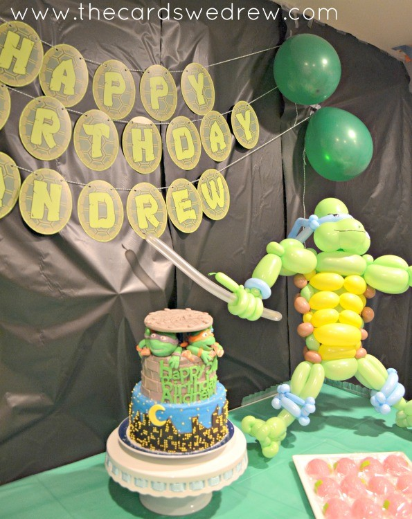 Ninja Turtles Party cake