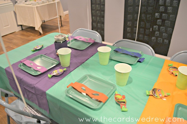 TMNT Table Settings