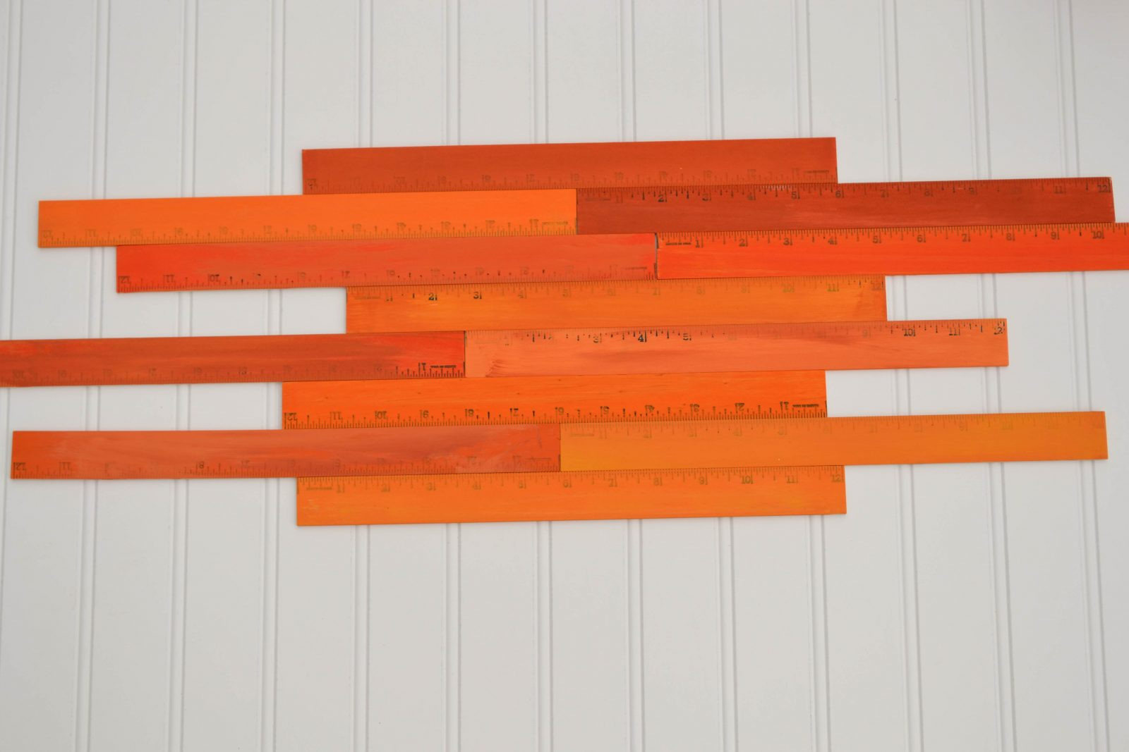 arrange your rulers before stenciling