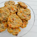 Chocolate Pumpkin Chip Cookies