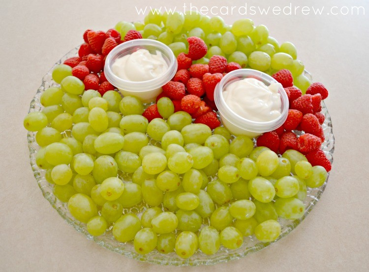 ninja turtle fruit platter