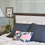 white tufted duvet cover