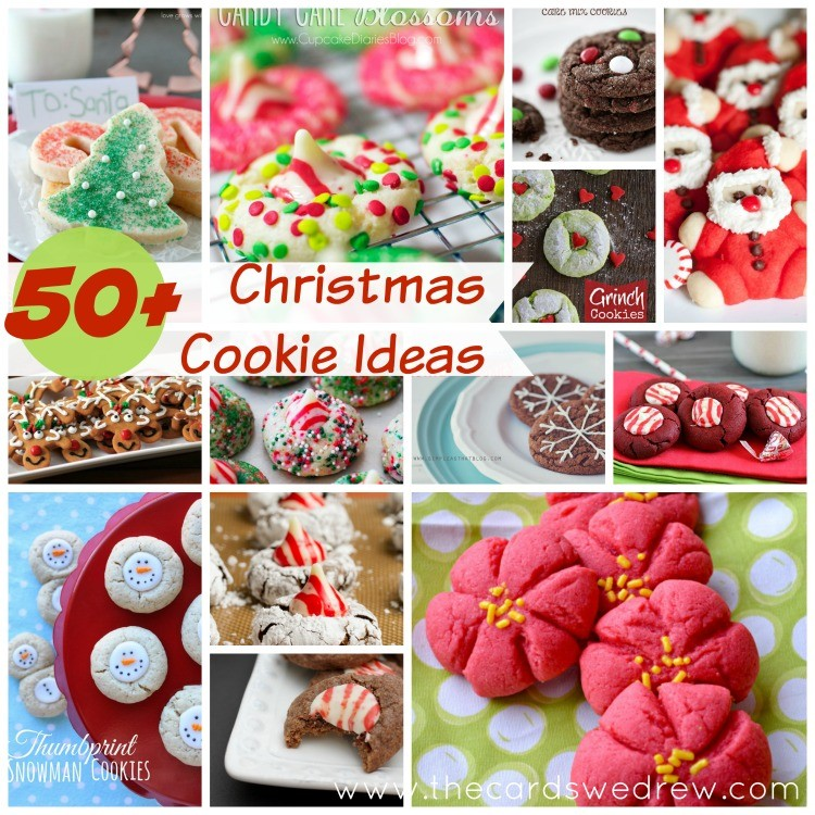 50+ Christmas Cookie Ideas from The Cards We Drew
