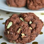 Chocolate Mint Cream Cheese Cake Mix Cookies w/ 40 Other Cookie Exchange Cookie Ideas