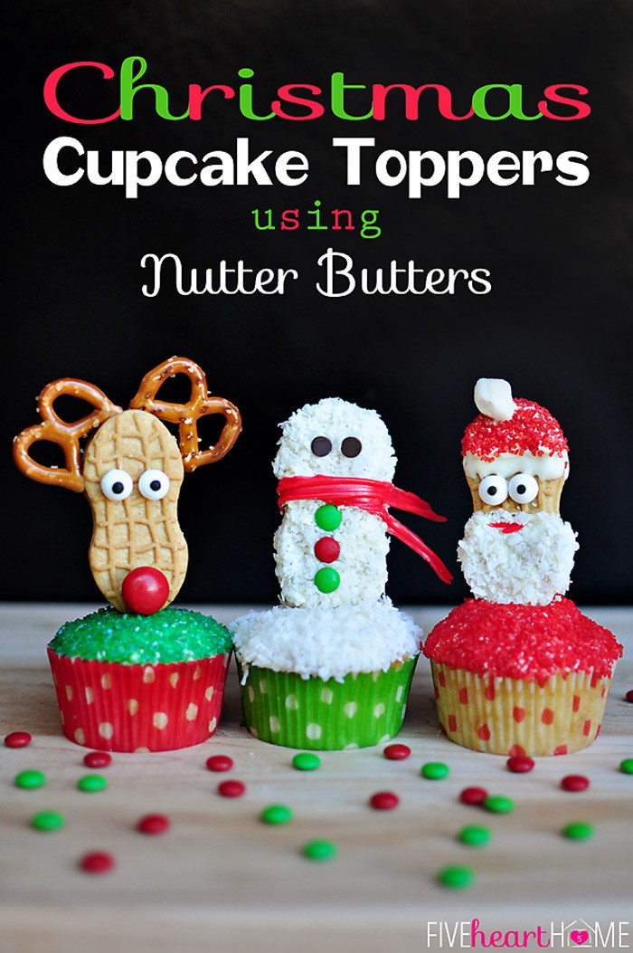 Christmas-Cupcake-Toppers-Using-Nutter-Butters-by-Five-Heart-Home_700pxTitle
