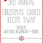 3rd Annual Christmas Cookie Recipe Swap