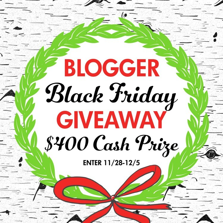 Black Friday Cash Giveaway at Design Dazzle