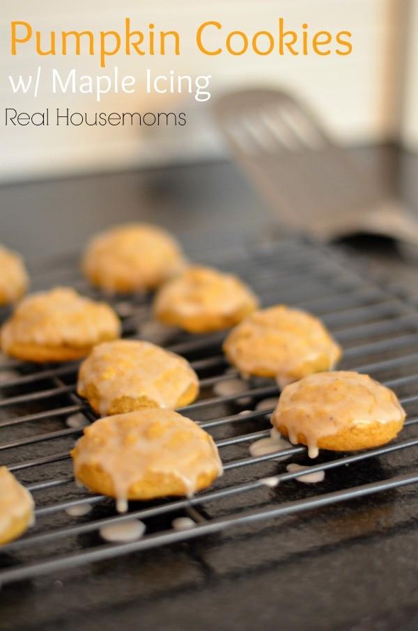 Pumpkin-Cookies-with-Maple-Icing_Real-Housemoms