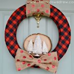 Rugged, Rustic Holiday Wreath