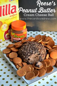 Reese's Peanut Butter Cream Cheese Ball from The Cards We Drew