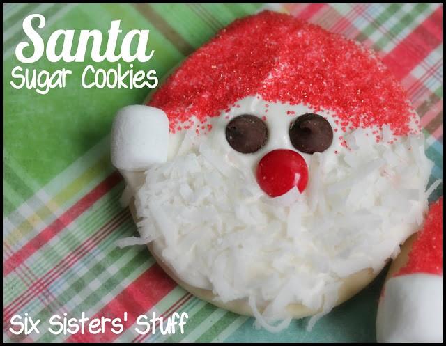 Santa Sugar Cookie 1