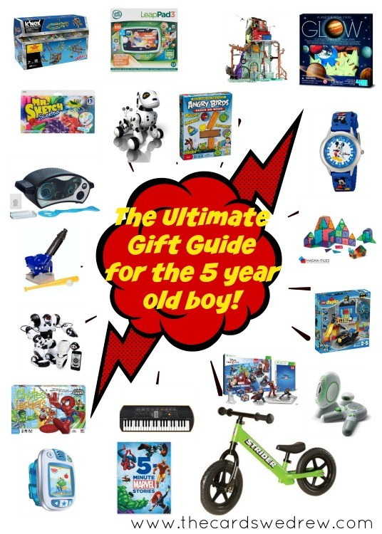 The Ultimate Gift Guide for the 5 Year Old Boy